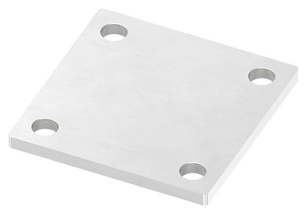 Ankerplatte   Maße: 92x92x6 mm   V2A