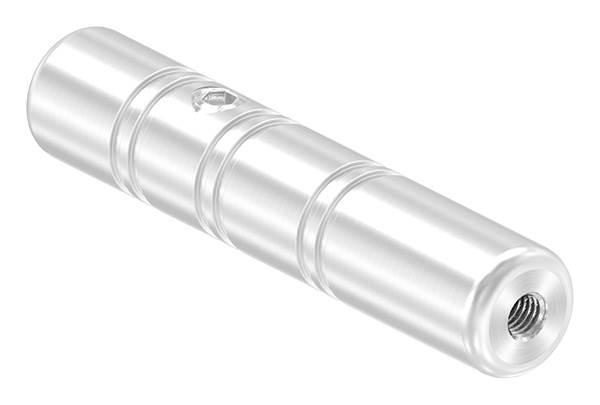 Gewindeterminal zur Selbstmontage   Für Seil Ø 5 mm   mit Innengewinde   V2A