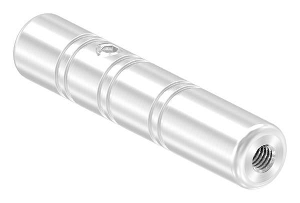 Gewindeterminal zur Selbstmontage   Für Seil Ø 6 mm   mit Innengewinde   V2A