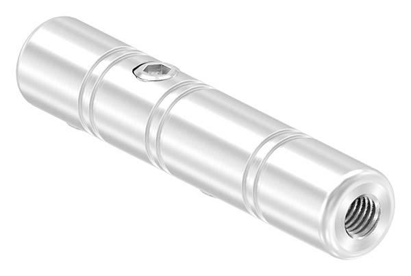 Gewindeterminal zur Selbstmontage   Für Seil Ø 8 mm   mit Innengewinde   V2A