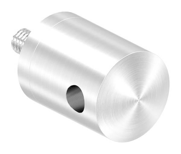 Seilhalter für Zwischenpfosten | Für Seil Ø 5 mm | Anschluss flach | V2A