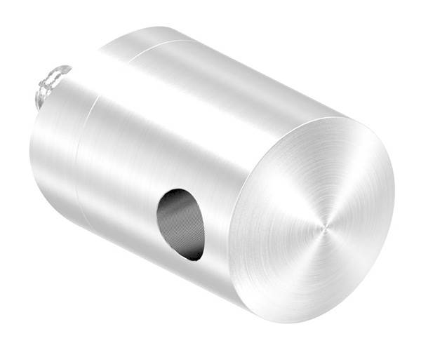 Seilhalter für Zwischenpfosten | Für Seil Ø 6 mm | Anschluss Ø 42,4 mm | V2A