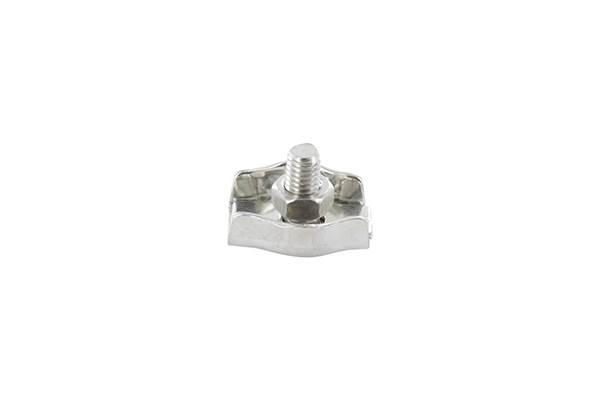 Simplexklemme | für Seil Ø 2 mm - 8 mm | V4A