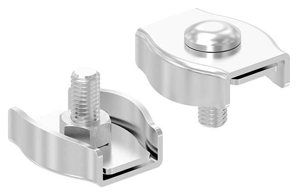 Simplexklemme | für Seil Ø 8 mm | V4A