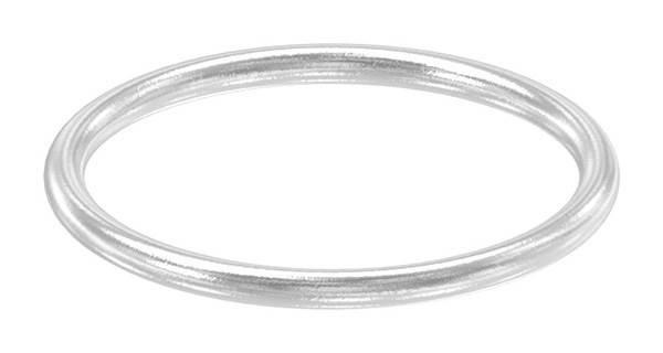 Ring   Außen-Ø: 48 mm   Materialstärke: 4 mm   V2A