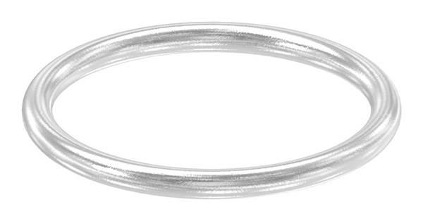 Ring   Außen-Ø: 62 mm   Materialstärke: 6 mm   V2A