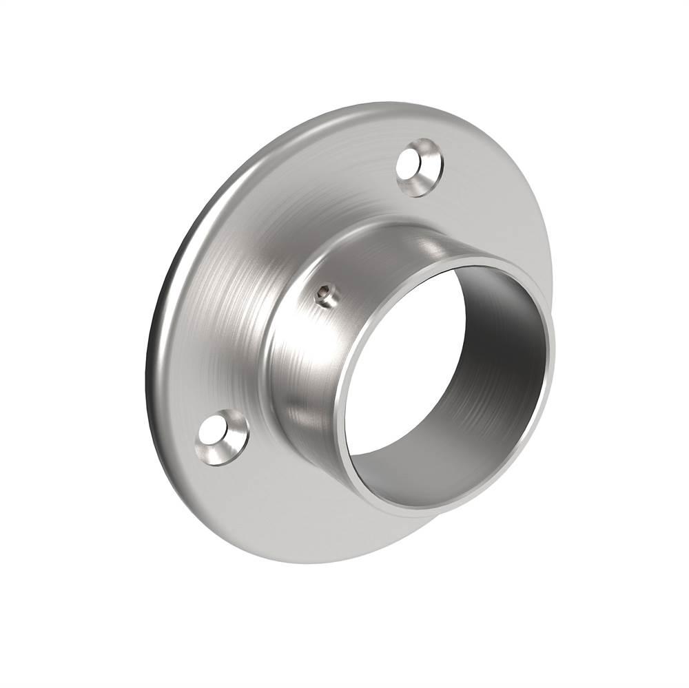 Wandanker Ø 80 mm   für Rundrohr: Ø 42,4 mm   V2A