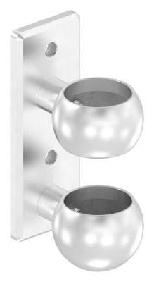 Wandhalter für Rundrohr Ø 48,3 mm V2A