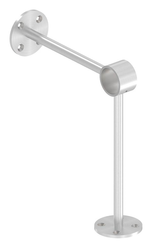 Fußlaufstütze für Ø 33,7 mm V2A
