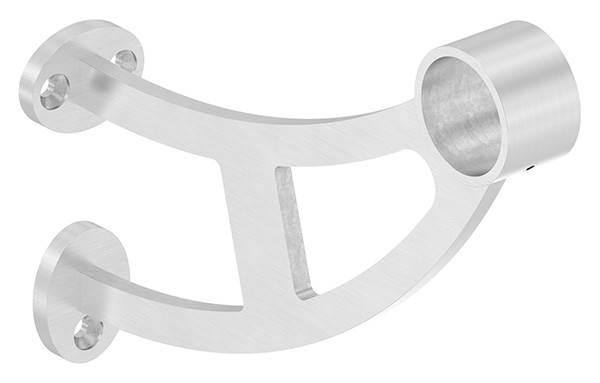 Fuß-/Handlaufstütze für  Ø 33,7 mm V2A