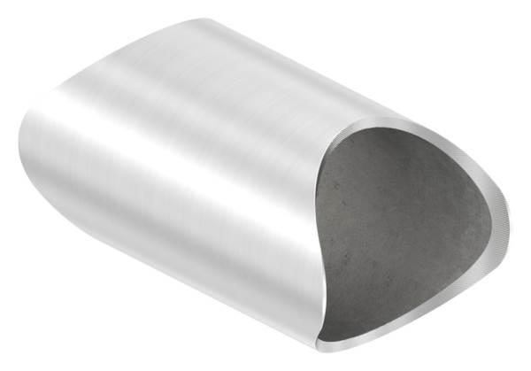 Rohrverbindungsstück für Rundrohr Ø 42,4 mm V2A