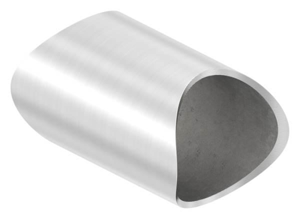 Rohrverbindungsstück für Rundrohr Ø 48,3 mm V2A