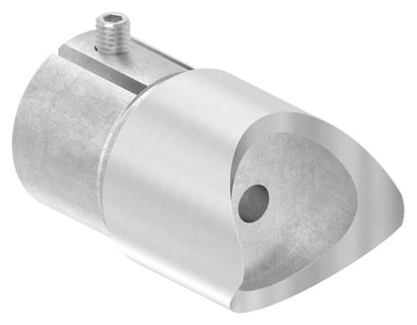 Anschlussstück 90° für Rundrohr Ø 48,3x2,6 mm V2A