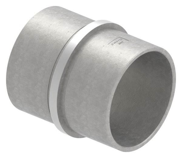 Verbinder für Rundrohr | Maße: Ø 60,3x2,5 mm | V2A