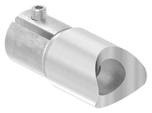 Anschlussstück 90° für Rundrohr Ø 33,7x2,0 mm V2A