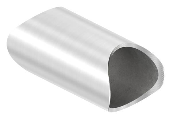 Rohrverbindungsstück   für Rundrohr: Ø 33,7 mm   V2A
