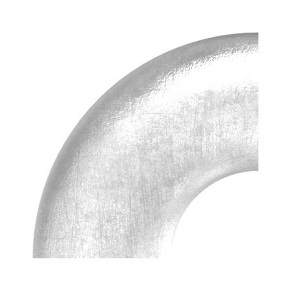 Bogen 90°   zum Schweißen   für Rundrohr: Ø 33,7 mm   V2A