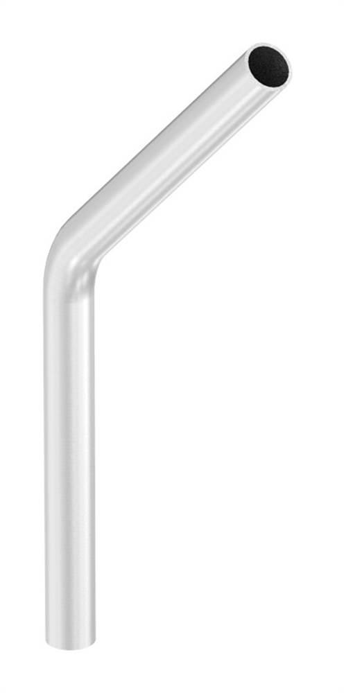 Bogen 45° | zum Schweißen | aus Rundrohr: Ø 26,9x2,0 mm | V2A