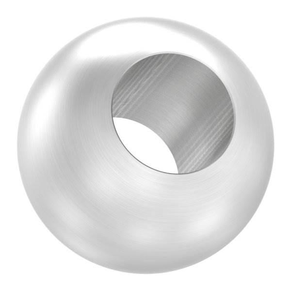 Kugel | Ø 25 mm | mit Durchgangsbohrung: 12,2 mm | V2A