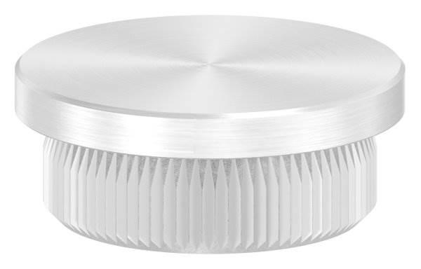 Stopfen flach für Ø 25,0x2,0 mm V2A Vollmaterial