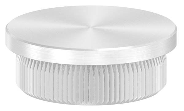 Stopfen flach für Ø 30,0x2,0 mm V2A Vollmaterial