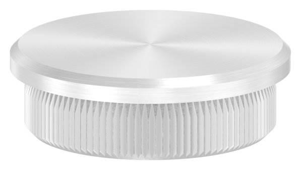 Stopfen flach für Ø 35,0x2,0 mm V2A Vollmaterial
