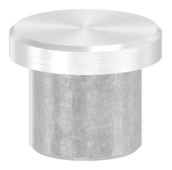 Stopfen flach V2A Vollmaterial für Ø 16,0x2,0 mm