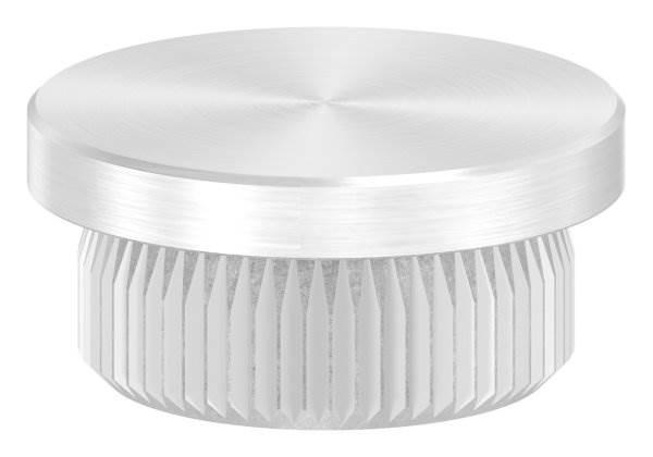 Stopfen flach V2A Vollmaterial für Ø 21,3x2,0 mm