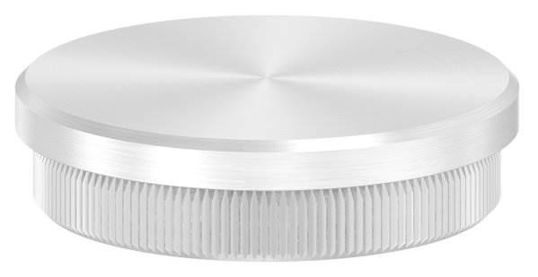 Stopfen flach V2A Vollmaterial für Ø 50,0x2,0 mm