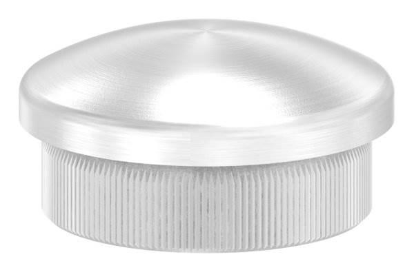 Stopfen leicht gewölbt V2A Vollmaterial für Ø 30,0x2,0 mm