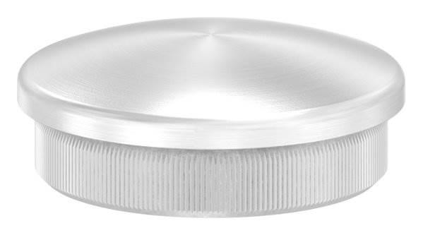 Stopfen leicht gewölbt V2A Vollmaterial für Ø 40,0x2,0 mm