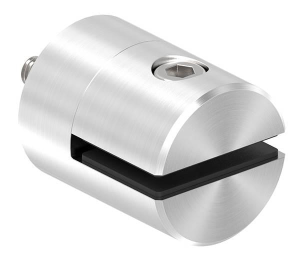 Blechhalter Ø 32 mm V2A flach/gerade