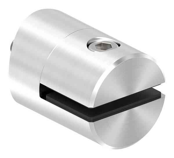 Blechhalter Ø 32 mm V2A für Anschluss Ø 60,3 mm