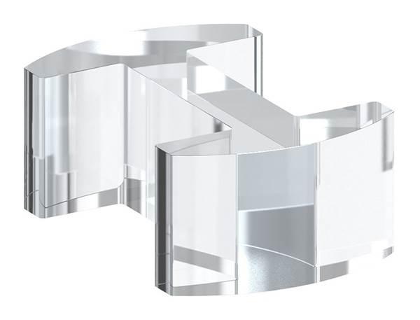 Glasausrichter | für Glas: 20,76-21,52 mm | PMMA Kunststoff