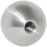 Kugel Ø 15 mm V2A Vollmaterial mit Gewinde M5