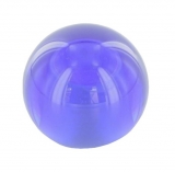 blaue Glaskugel Ø 30 mm mit Sackloch 12,3 mm