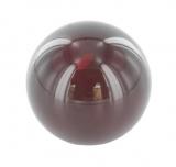 rote Glaskugel Ø 30 mm mit Sackloch 12,3 mm
