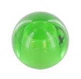 grüne Glaskugel Ø 35 mm mit Sackloch 12,3 mm