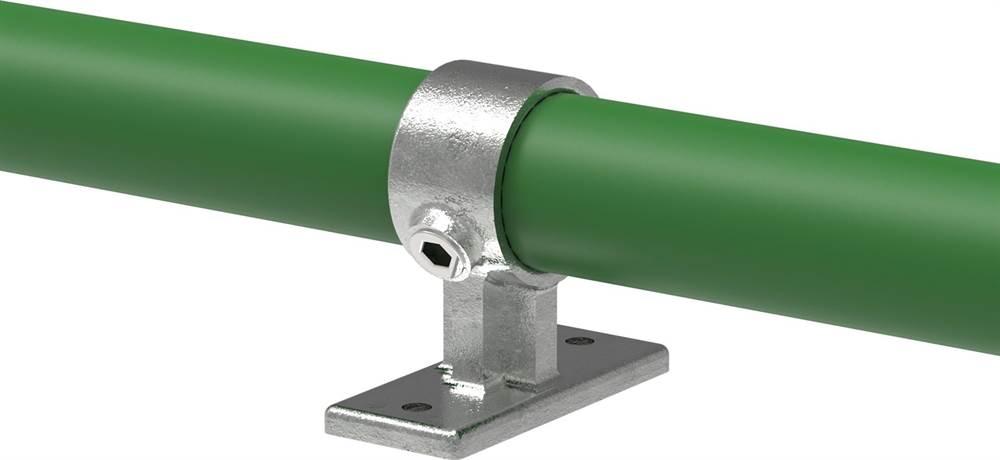 Rohrverbinder | Handlaufhalterung | 143 | 26,9 mm - 48,3 mm | 3/4 - 1 1/2 | Temperguss u. Elektrogalvanisiert