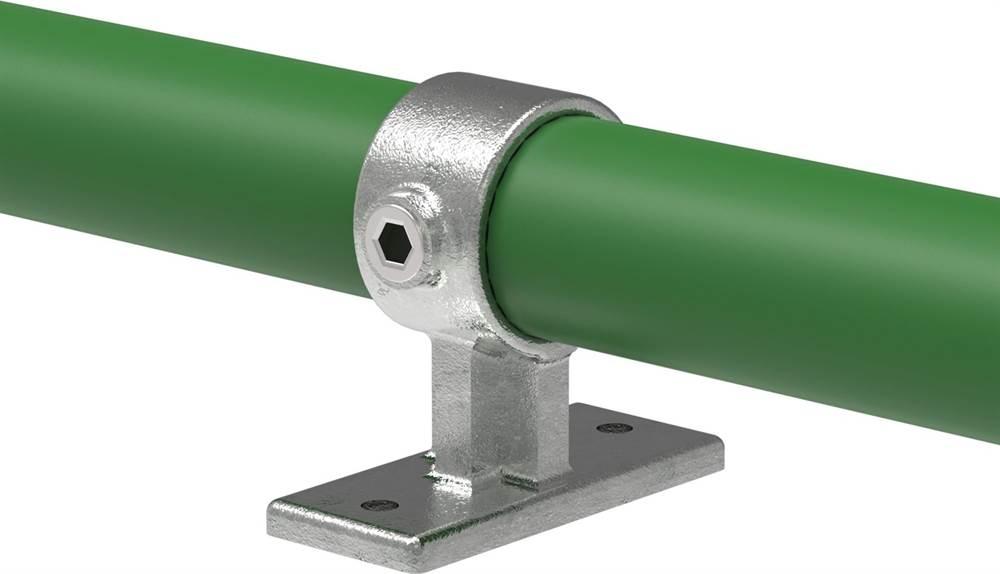 Rohrverbinder | Handlaufhalterung Befestigungsschraube 90° | 143W | 26,9 mm - 48,3 mm | 3/4 - 1 1/2 | Temperguss u. Elektrogalvanisiert