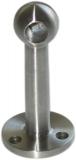 V2A Stabhalter Endstück 45° für Ø 10 mm