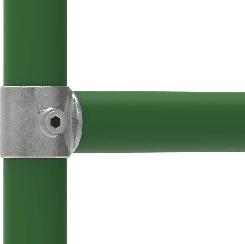 Rohrverbinder   Drehstück   147   33,7 mm - 48,3 mm   1 - 1 1/2   Temperguss u. Elektrogalvanisiert