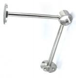 Fußlaufstütze V2A für Ø 48,3 mm