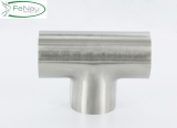 V2A T-Stück zum Anschweißen für Rundrohr Ø 33,7 mm