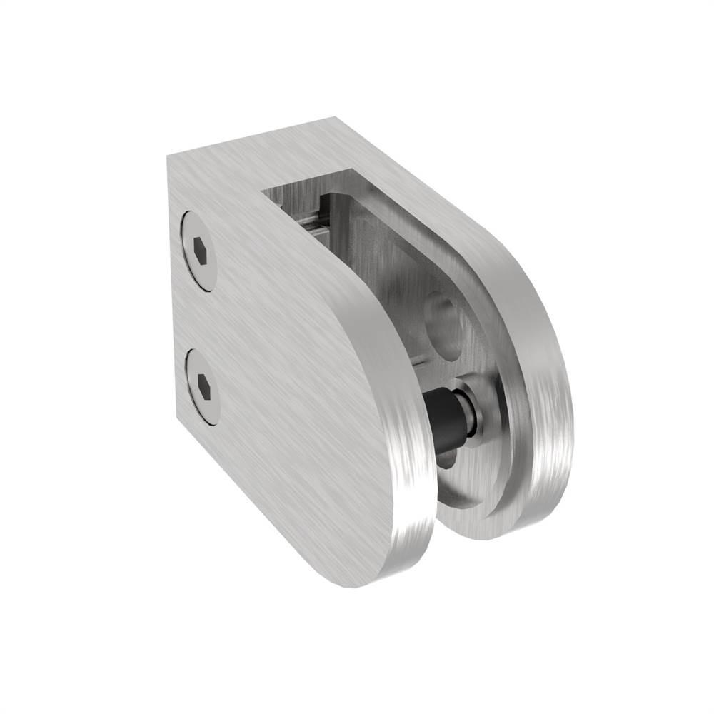 Glasklemme 63x45x28 mm V2A für Anschluss flach