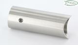 V2A Rohrabstandshalter für Stoßgriffe für Ø 42,4 mm