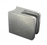 Glasklemme Zink roh 45x45x27 mm Modell 30 für Ø 33,7 mm