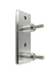 Wandhalter V2A für Rundrohr Ø 42,4 mm