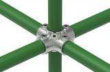 Rohrverbinder 158E60 - Kreuzstück für Stützrohr