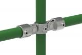 Rohrverbinder 167E60 - Gelenkstück doppelt 180°